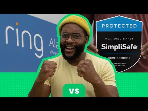 Ring Alarm vs  SimpliSafe  Security System Review