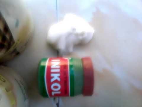 Cara bikin slime drngan lem inikol