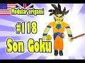 3D MODULAR ORIGAMI #118 SON GOKU DRAGON BALL