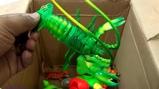 Box of Toys Animals for Kids Learn Colors | Aprende los colores con animales