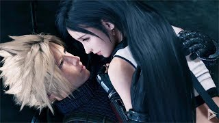 FINAL FANTASY 7 REMAKE All Tifa and Cloud Flirting Scenes