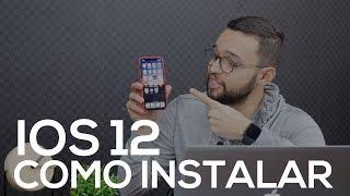 COMO INSTALAR O iOS 12 BETA (FÁCIL E RÁPIDO)