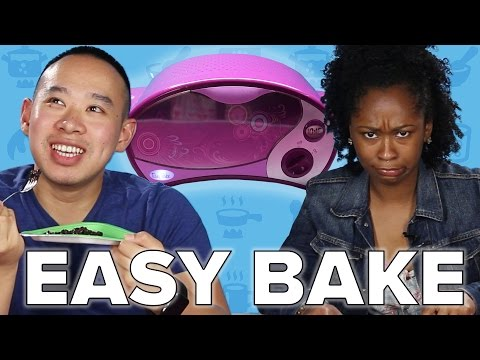 Thumbnail: Adults Try Homemade Easy Bake Oven Recipes