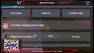 Playing Roblox with Nicoly participation