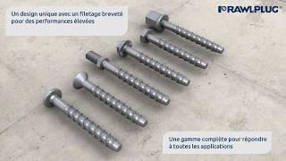 Rawl Plugs Wall Expansion Plug Vis Fixation 5 mm brique béton jaune