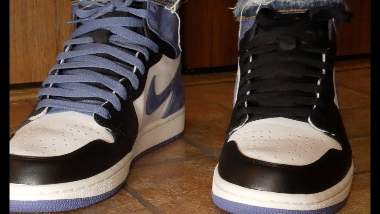 uk availability efb4b b6ea9 Look At The Air Jordan 1 Blue Moon & On Feet