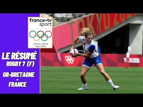 JO 2021 : Rugby à 7 - 1/2 Finale (F) - Grande-Bretagne vs France - Résumé complet