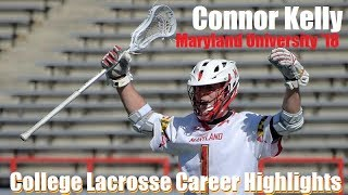 Connor Kelly College Lacrosse Career Highlights