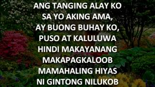 Ang Tanging Alay Instrumental