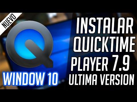 Instalar QuickTime Player Pro v7.7.9 Full Español para Windows 10/8/7 Ultima Versión 2016