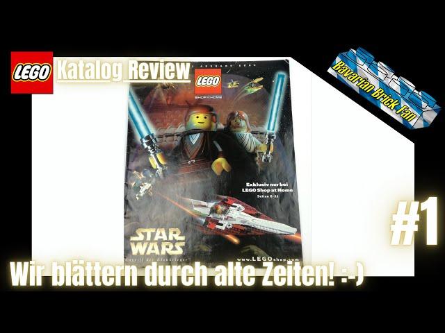 LEGO Shop at Home Katalog Spezial Ausgabe 2002   Review deutsch