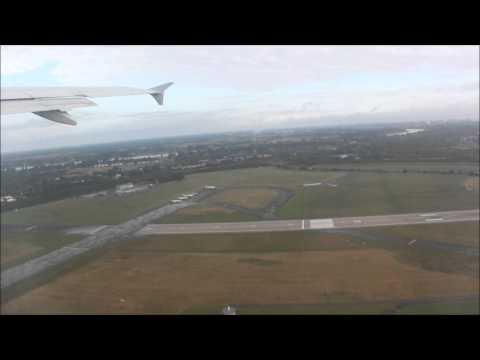 Air Via A320-200 departure Düsseldorf Airport - Burgas (Bulgaria) part 1