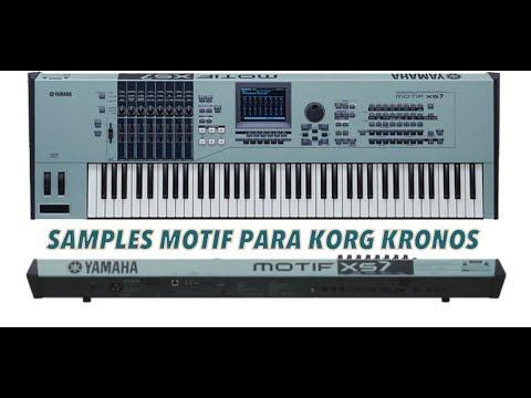 KORG KRONOS - Motif Pianos