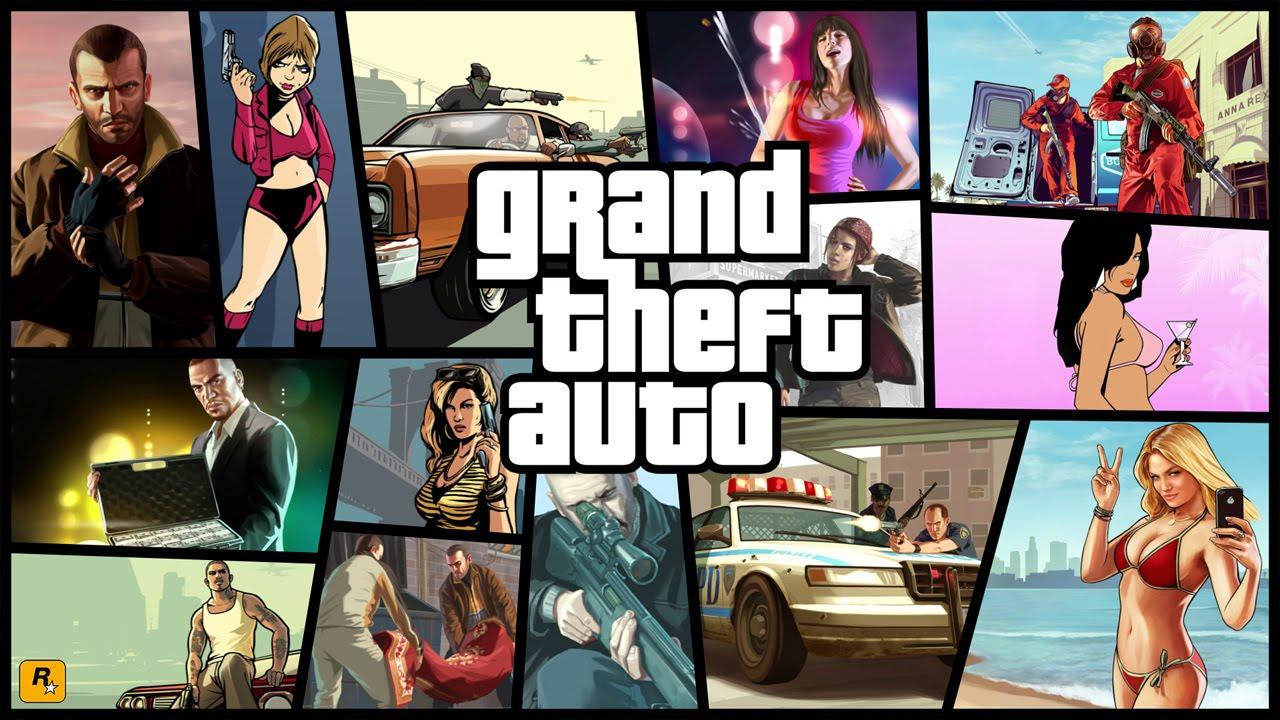Топ-5 игр серии Grand Theft Auto (пять лучших GTA)