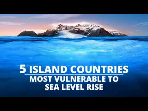 5 Island Countries Most Vulnerable To Sea Level Rise