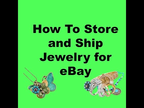 How to Store Jewelry for eBay and Shipping Jewelry