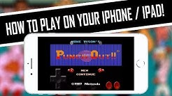 HOW TO PLAY Mike Tyson's Punch-Out!! (NES) on iPhone, iPad, iPod, iOS | [Setup Tutorial & Settings]