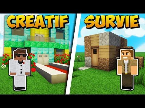 Tuto Grande Maison Moderne Facile à Faire Minecraft Youtube