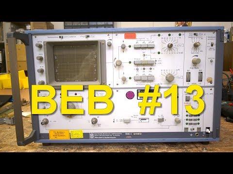 BEB #13: Huuuge Radio Link Receiver Teardown, Wandel & Goltermann