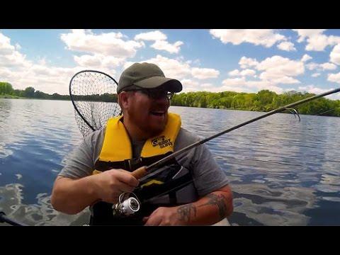 Future Beach voyager Kayak First Fish!! (EXPLICIT LANGUAGE)