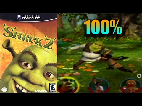 Shrek 2 14 100 Gamecube Longplay Youtube