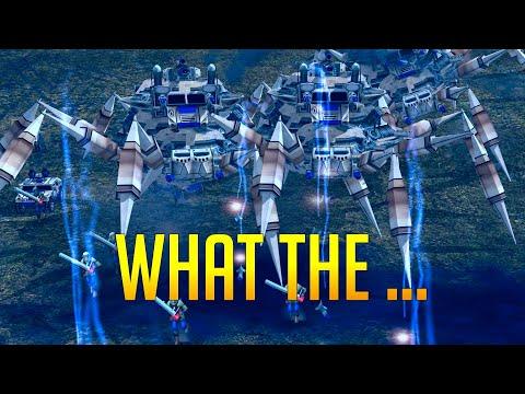 (MENTAL) Giant Robot Mod   Generals Zero Hour
