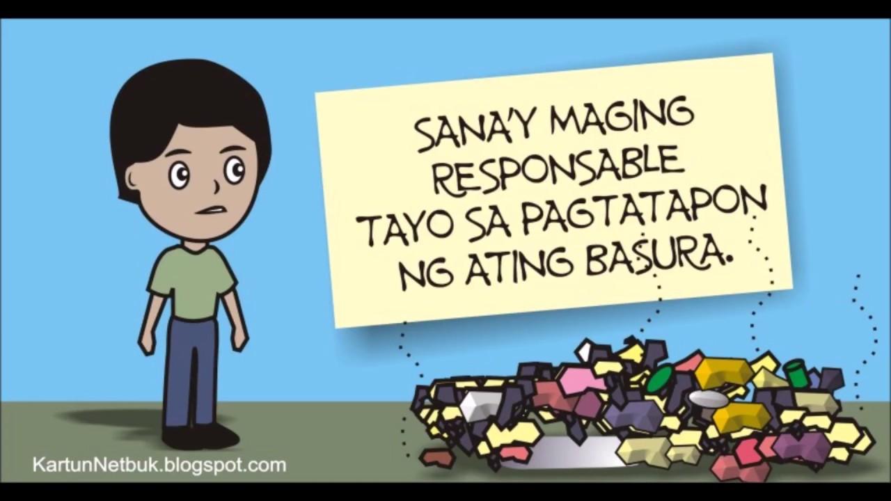Basura at ang Tao ( Disiplina at Responsibilidad) - YouTube