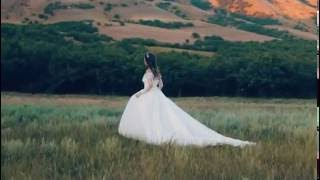 Свадебный клип невесты на фоне прекрасной природы Дагестана