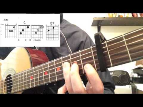 Crazy by Gnarls Barkley - Guitar Chords and tips! PS317 Waterside