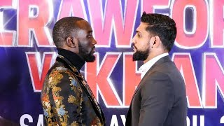 FRIENDLY FIRE: Terence Crawford vs Amir Khan FACEOFF