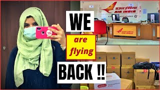 We are taking a break ! Leaving Saudi Arabia ! Cargo Packing !