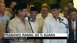 Download Video Prabowo Ramal 63% Suara di Pilpres 2019 MP3 3GP MP4