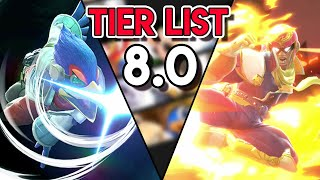 NEW SMASH ULTIMATE TIER LIST