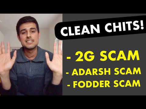 Christmas Gifts for Netas: 2G Spectrum Scam, Adarsh, Fodder Clean Chits |  Live with Dhruv Rathee