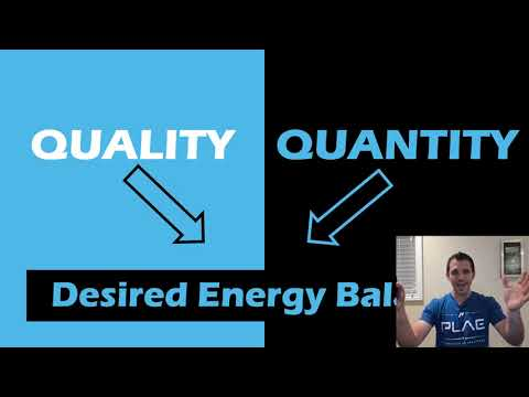 Quality or Quantity The Great Calorie Debate: 55 Min Phys