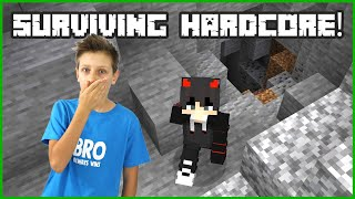HOW LONG CAN WE SURVIVE IN HARDCORE MINECRAFT???