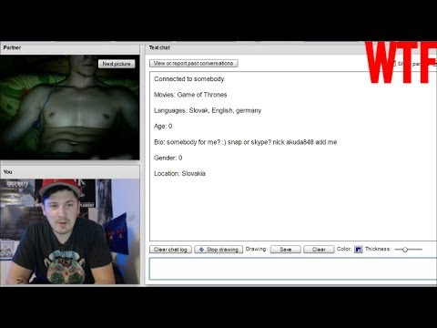 Naked chatroulette