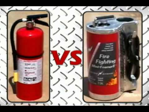 NitroStrike FirstResponder2 vs Dry Chemical Fire Extinguisher
