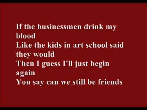 Arcade Fire - Ready To Start (Lyrics on screen)