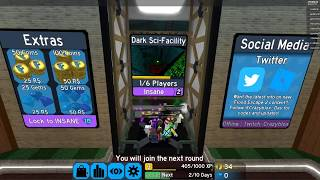 ROBLOX Flood Escape | NEED HELP SWIMMING! | DJGaming