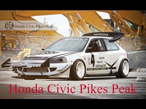 HD Photoshop CS6 - Civic K Series Pikes Peak -PSA- HighQuality