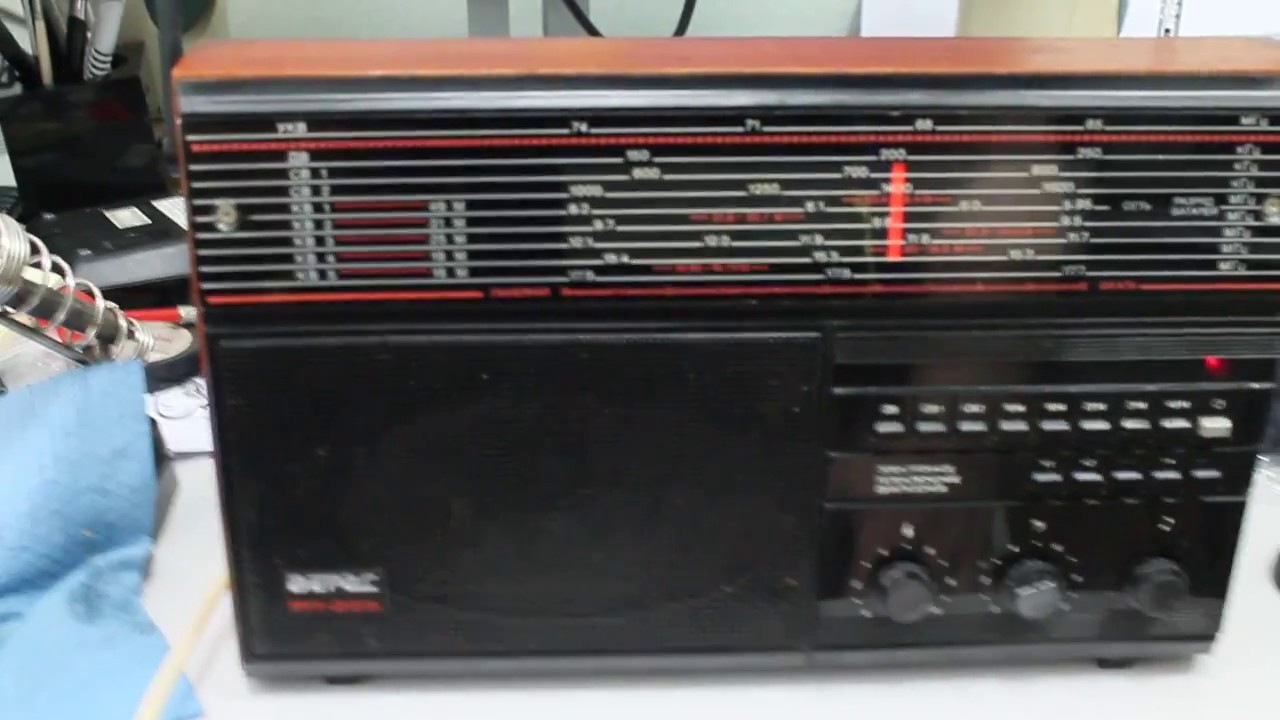 Инструкция к радиоприемник верас рп 225