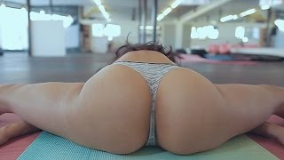 Hot girl Japanese Stretching Exercise | Female Fitness | Bikini Body Workout at Gyn sexy figure