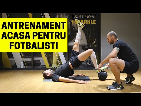 ANTRENAMENT DE FORTA ACASA PENTRU FOTBALISTI | IMPROVED FOOTBALL