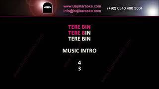 Sara Sara Din Tere Bin - Video Karaoke - Master Saleem by BAJI KARAOKE