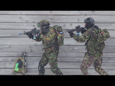U.S. and Slovenian SOF train with Serbian anti-terror forces