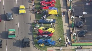 2015 Woodward Dream Cruise - Friday night view from Chopper 7