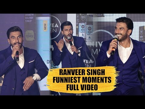 Funniest Moments Of Ranveer Singh | Back To Back | NIVEA MEN'S Grooming Brand Nivea Men