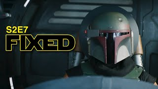 The Mandalorian Season 2 Ep7 Ending Fixed