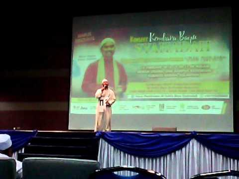 Iman mutiara Ustaz Nazrey Johani(Raihan) konsert kembara bayu syahadah(LIVE) USM